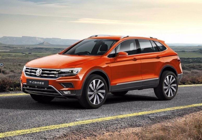 VW представит кросс T-Cross в2018