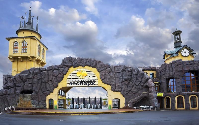ВМосковском зоопарке построят пешеходный мост