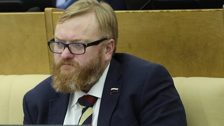 Депутат Милонов призвал Минпромторг убрать спирт сприлавков