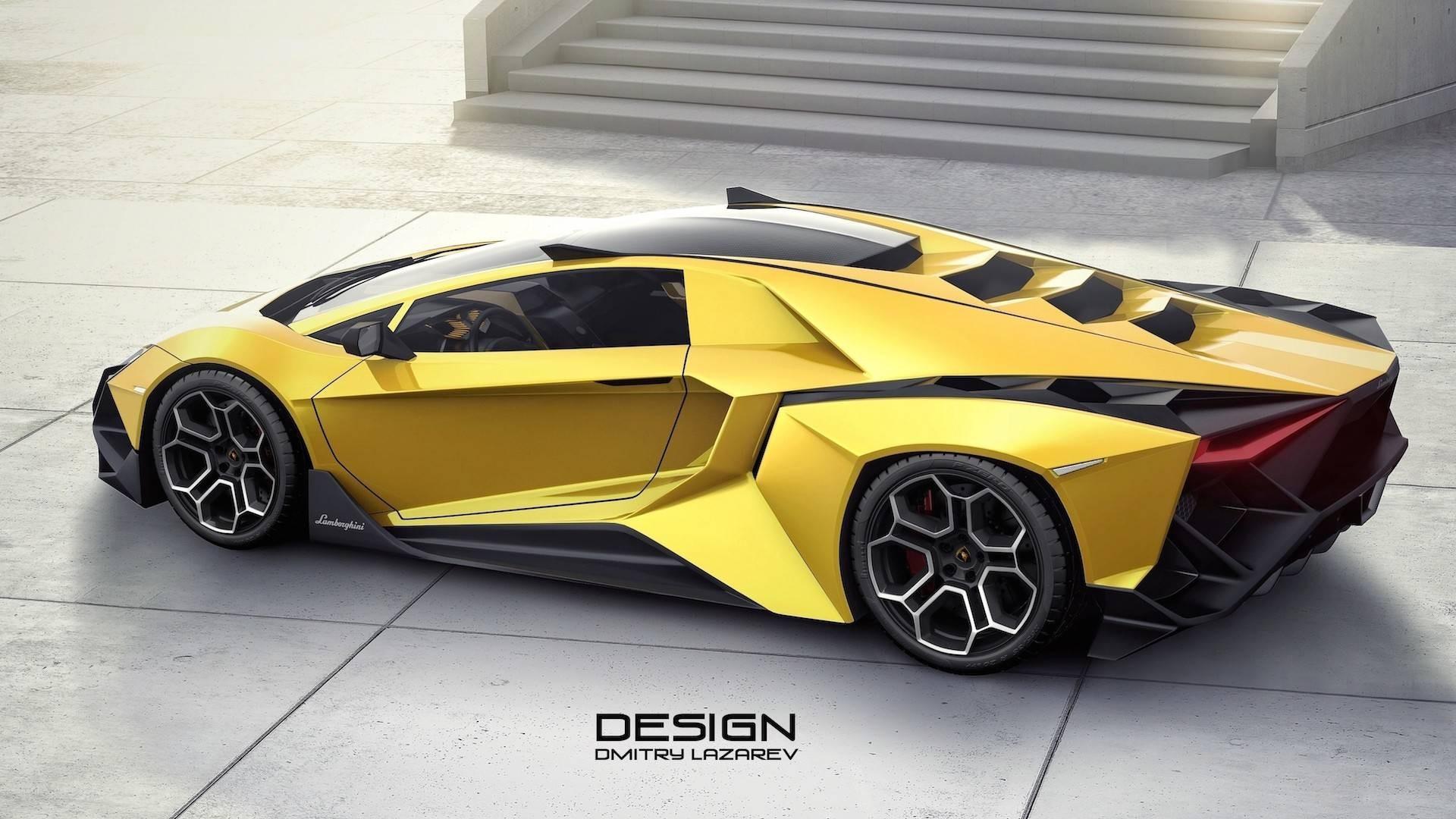 Российский дизайнер создал виртуальный концепт Lamborghini Forsennato