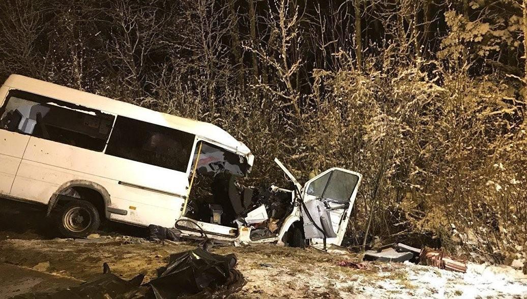 ВМексике вДТП савтобусом погибли девять человек