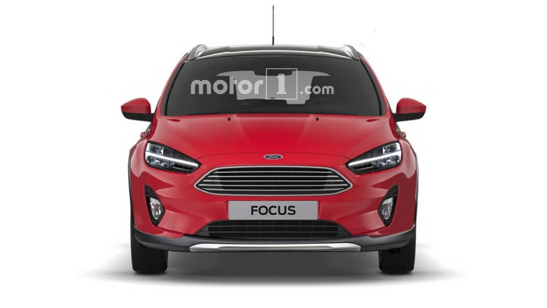 Винтернете появились рендеры вседорожного универсала Форд Focus