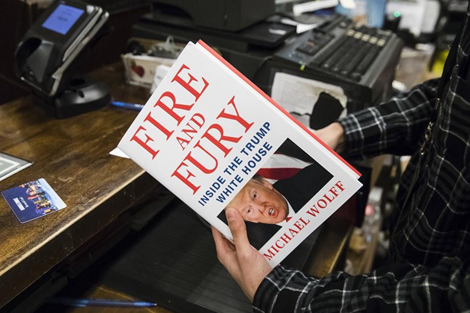 Трамп разоблачил создателя книги освоем «русском предательстве»
