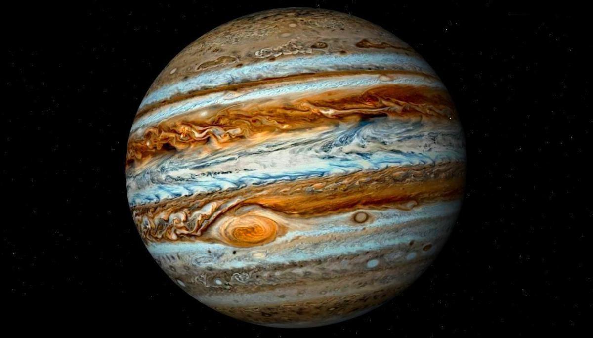 NASA показало цветные фотоснимки «милого Юпитера»