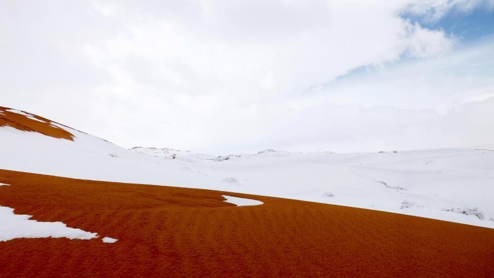 Снегопад вСахаре является признаком глобального потепления— руководитель Гидрометцентра