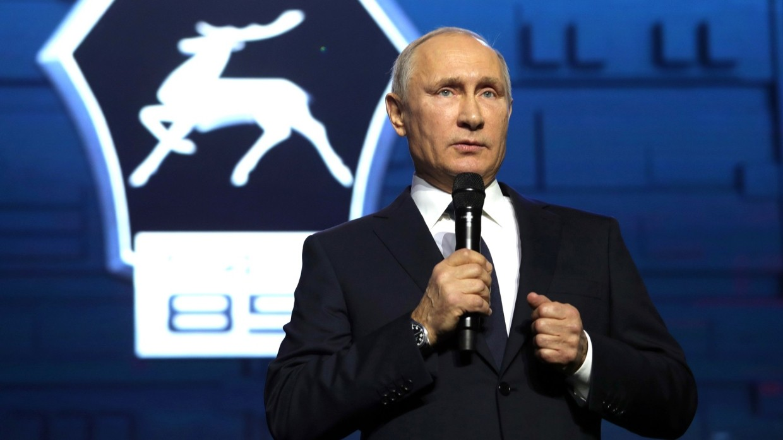Кандидат впрезиденты Путин посетит собственный предвыборный штаб