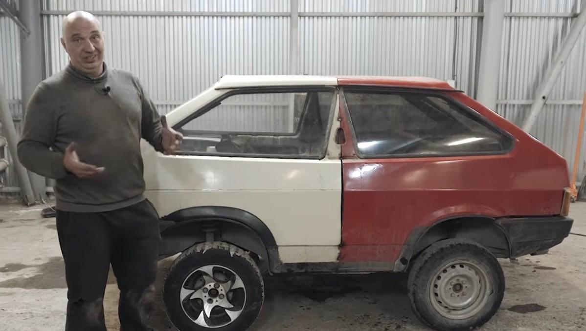 ВНовосибирске блогеры сварили «танк» из 2-х авто «Жигули»