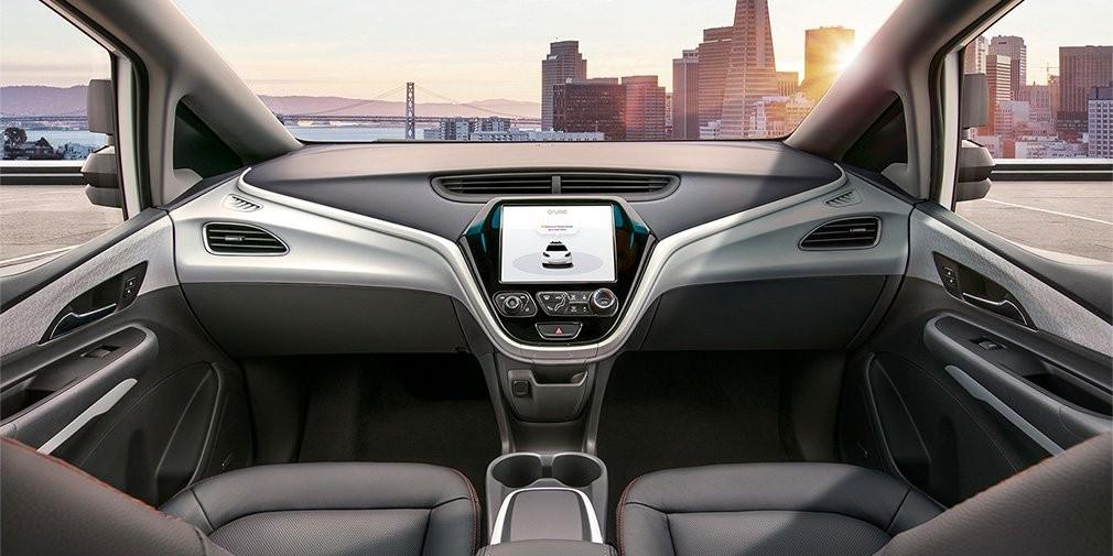 Дженерал моторс  показала дизайн  автомобиля, которому ненужен шофёр