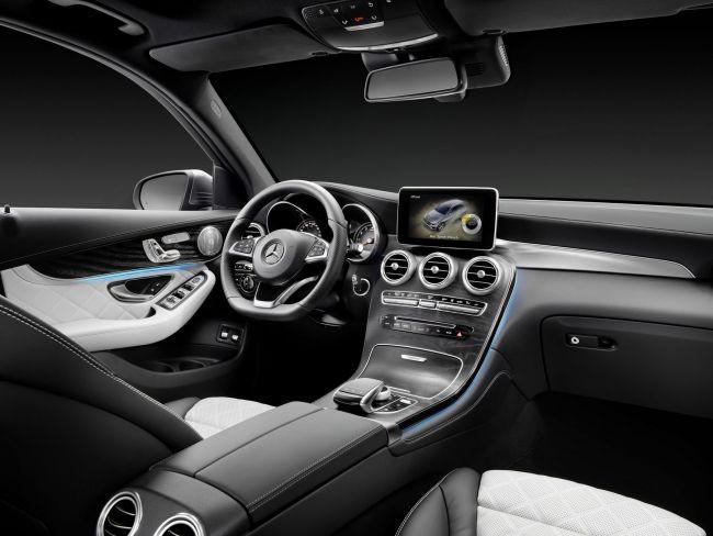 Новый Mercedes-Benz GLC350e выйдет в продажу по цене от 70 тысяч долларов