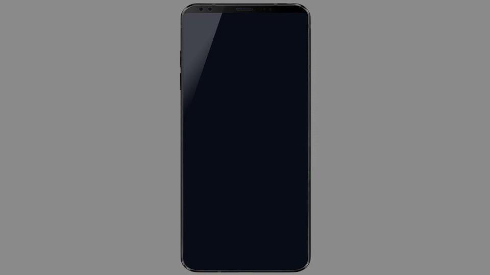 Размещен рендер нового флагманского телефона LGG7