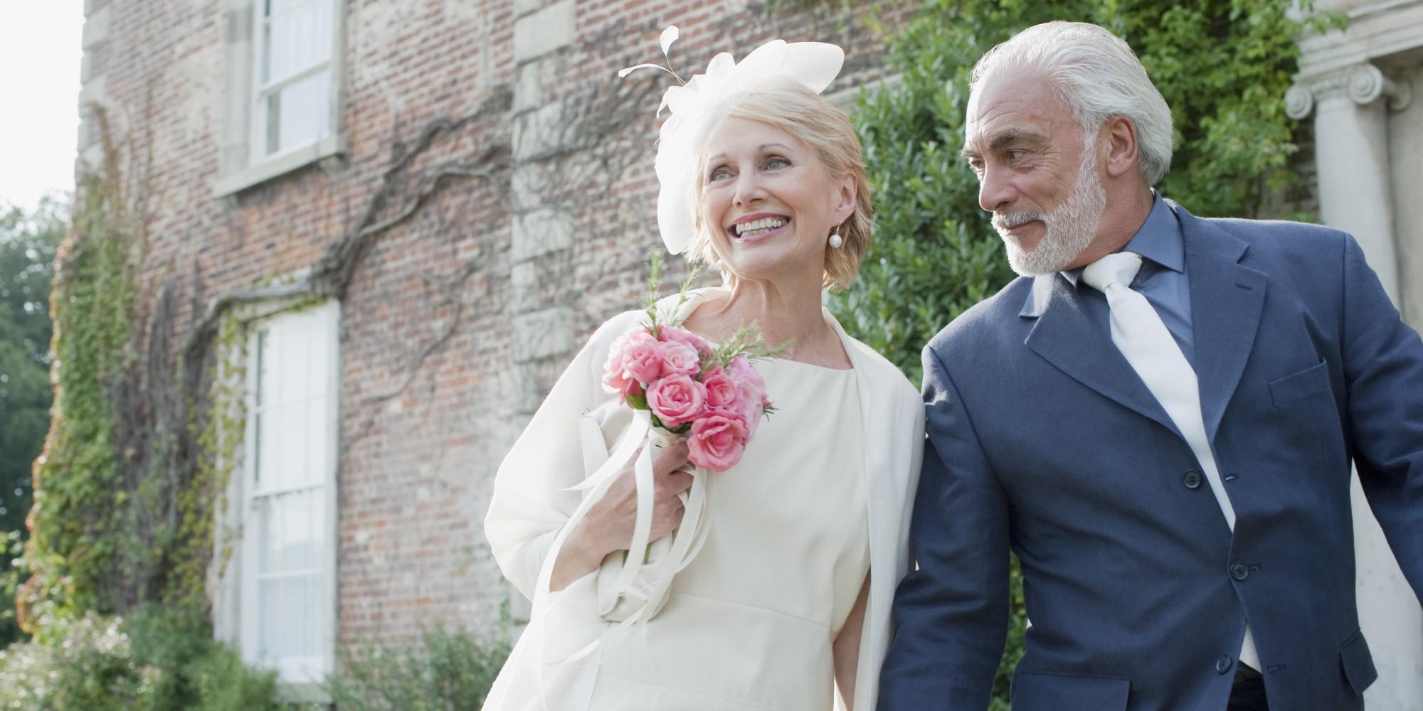 Свадьба в возрасте фото