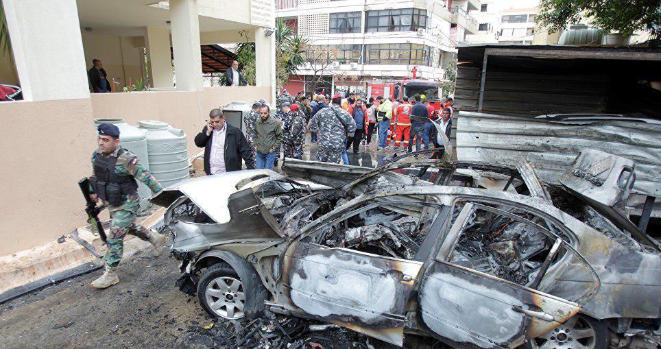 Взрыв прогремел вливанском городе Сайда