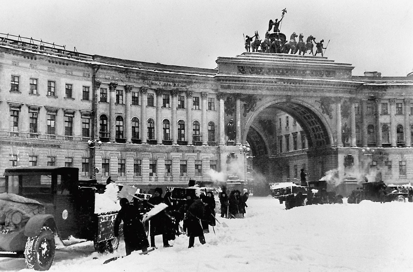 В Великобритании планируют снять документальный фильм о блокаде Ленинграда