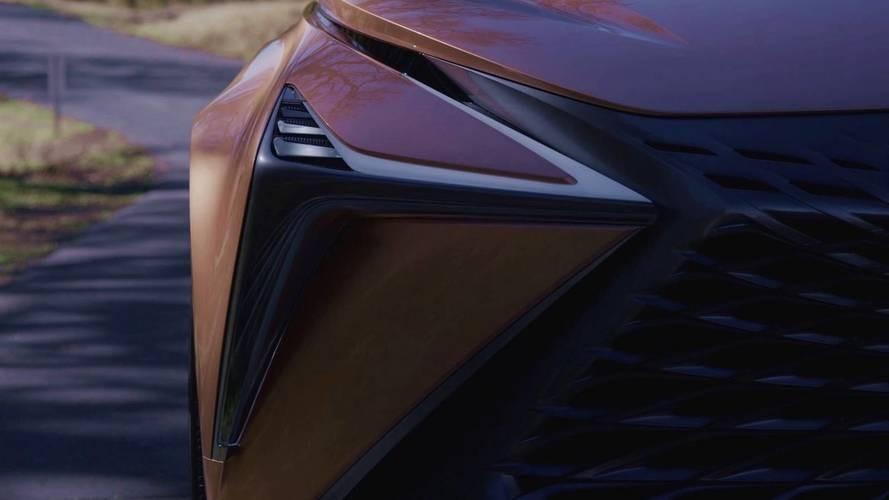 Лексус продемонстрировал концептуальный автомобиль флагманского кроссовера LF-1 Limitless