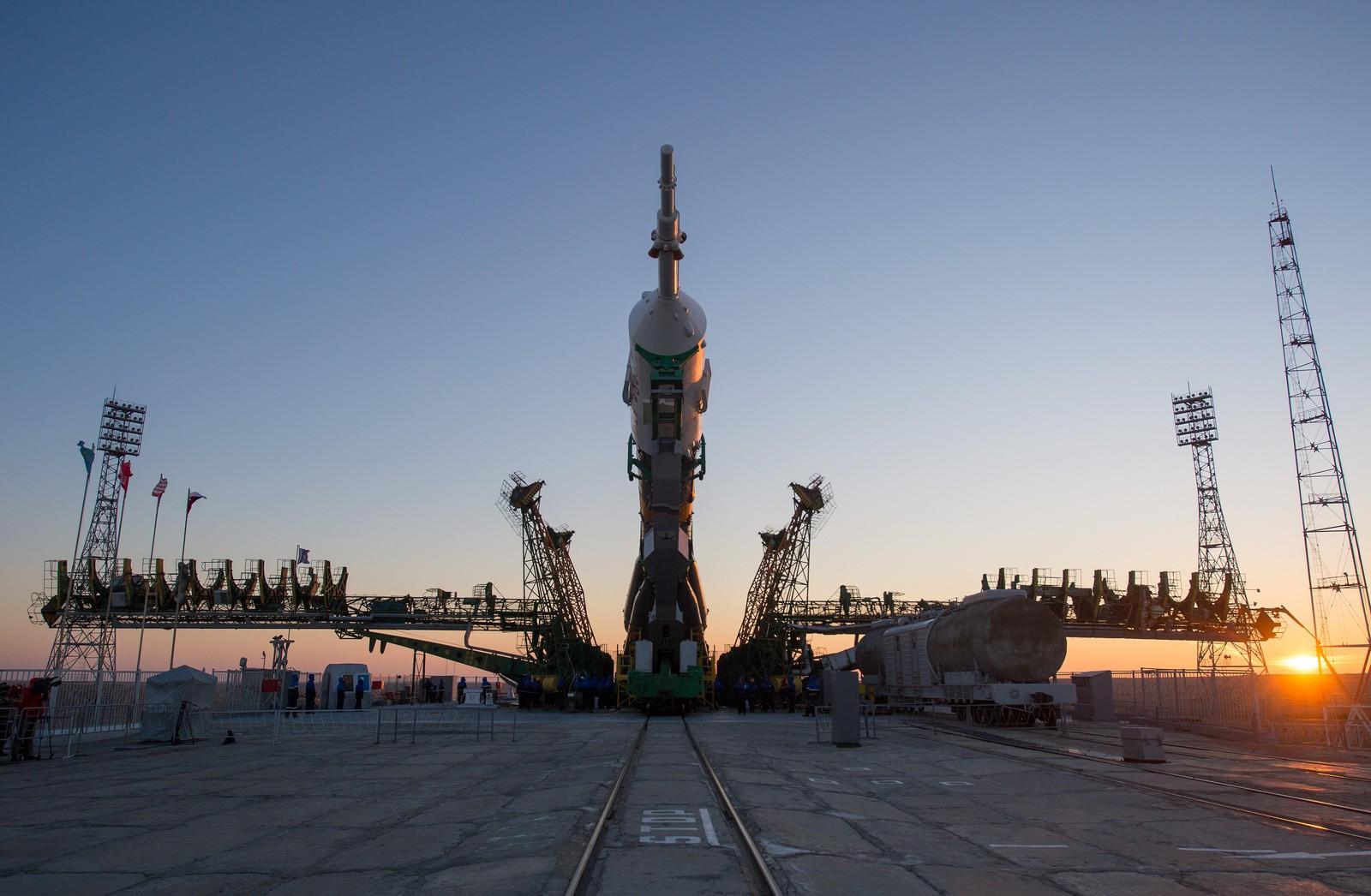 Накосмодромах Российской Федерации используют рельсы ЧМК