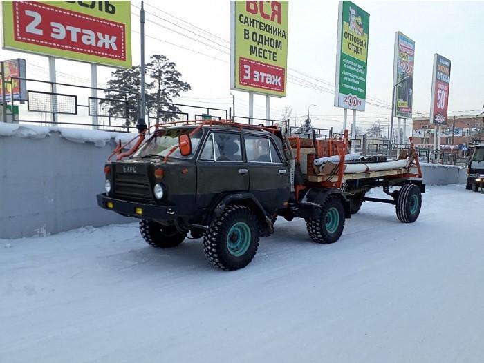 Поулицам Улан-Удэ разъезжает автомобиль из«Безумного Макса»