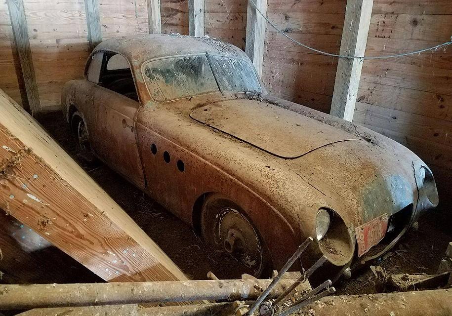 ВСША обнаружили редчайший довоенный БМВ, который гонялся в«Ле-Мане»