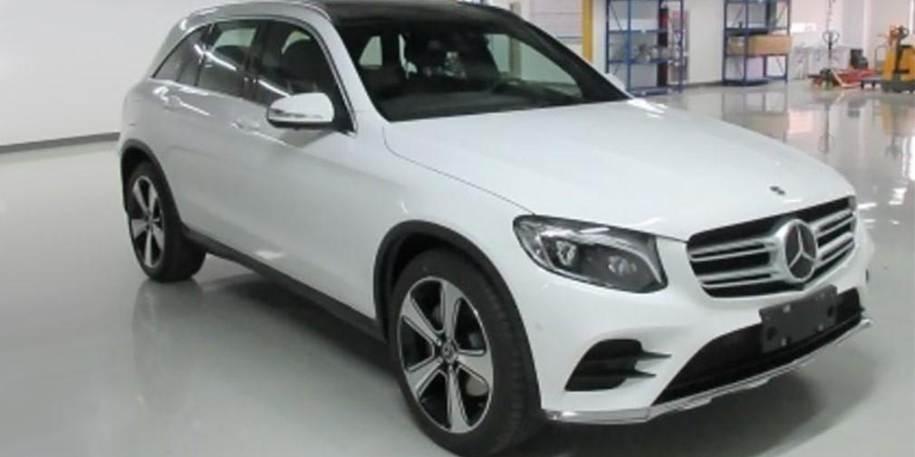 Германский производитель авто презентовал Мерседес Бенс GLC Lвудлиненном исполнении