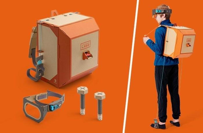 Nintendo рассказала о картонном конструкторе Labo для Switch