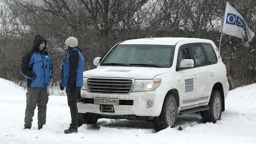 Замглавы миссии ОБСЕ едет вДонбасс