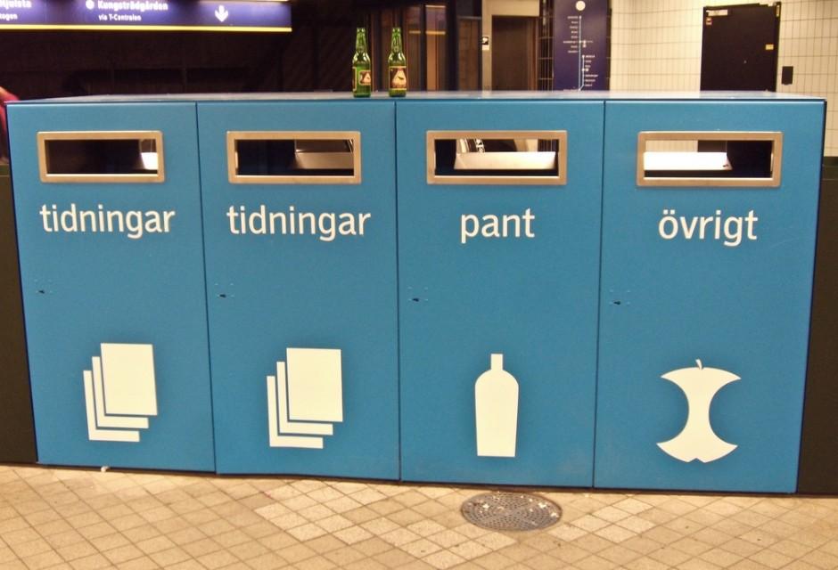 Шведы освоили переработку бытовых отходов в горючее