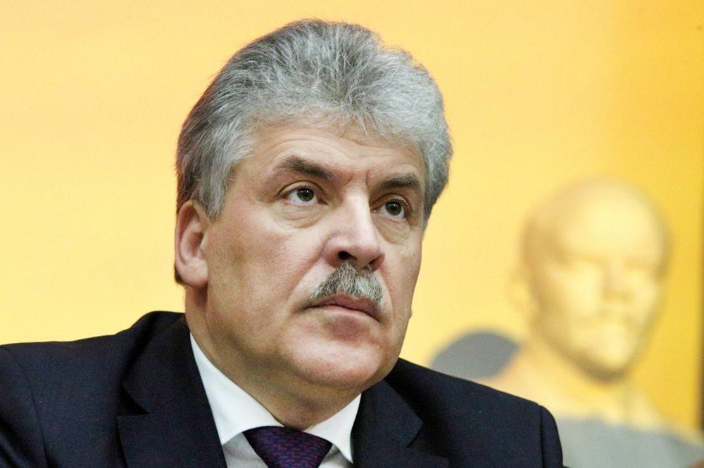 Новосибирский облизбирком нашел вбюллетенях Грудинина признаки незаконной агитации