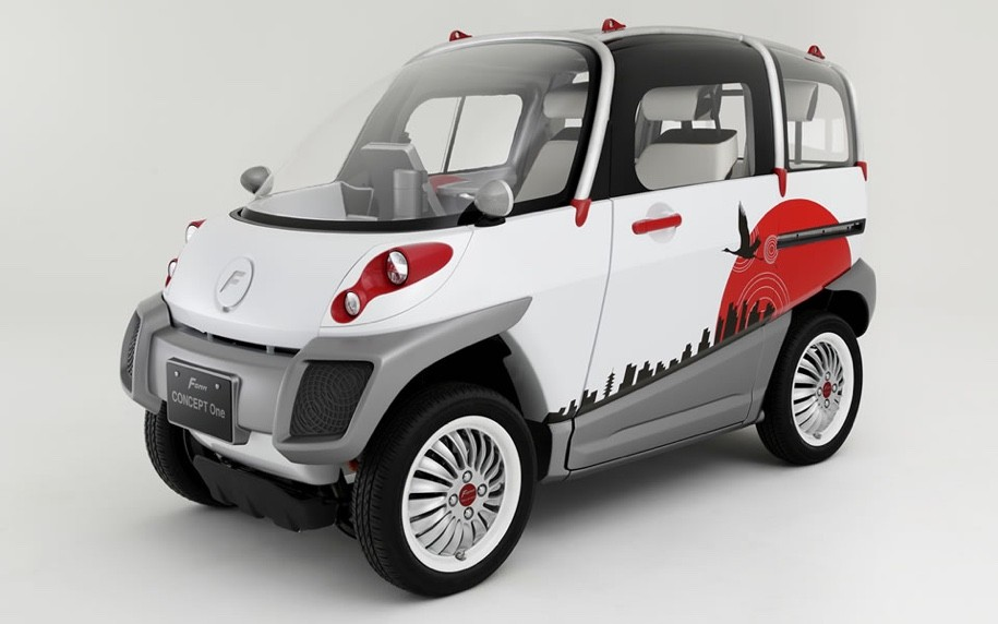 Экс-сотрудник Тойота вЯпонии представил электрокар-амфибию