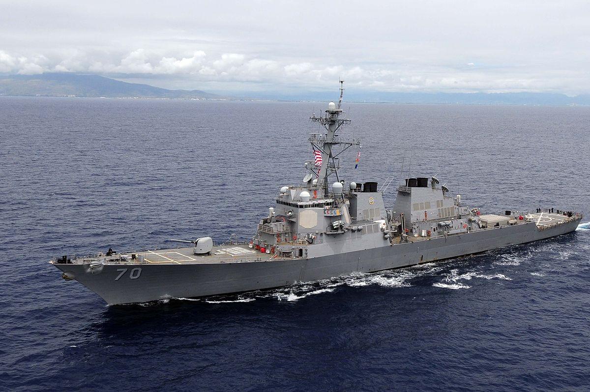 Эсминец ВМС США нарушил национальный суверенитет Китая вЮжно-Китайском море— МИД Китайская республика