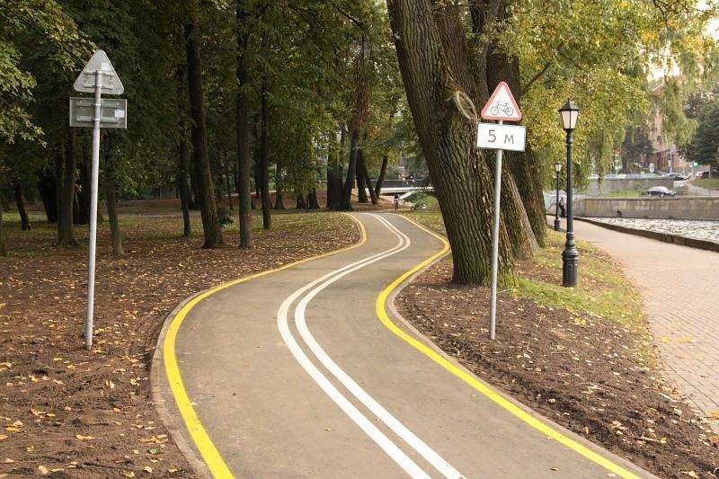 ВПетербурге новые велодорожки спроектируют компании «Стройпроект» иАСП «Северо-Запад»