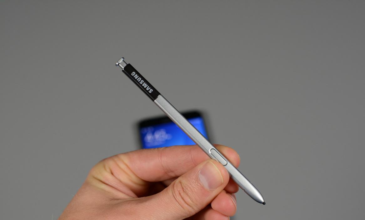 Самсунг запатентовал новый режим работы для электронного пера SPen