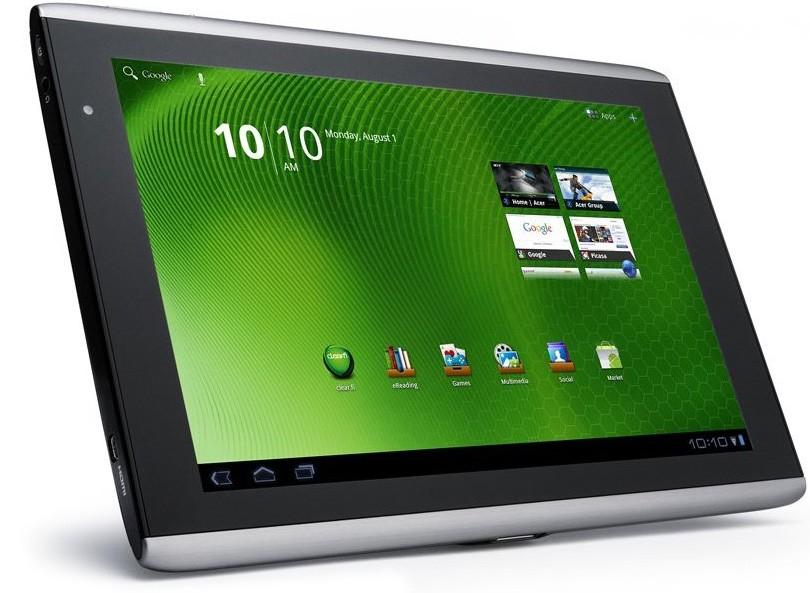Acer показала 1-ый вмире планшет наChromeOS
