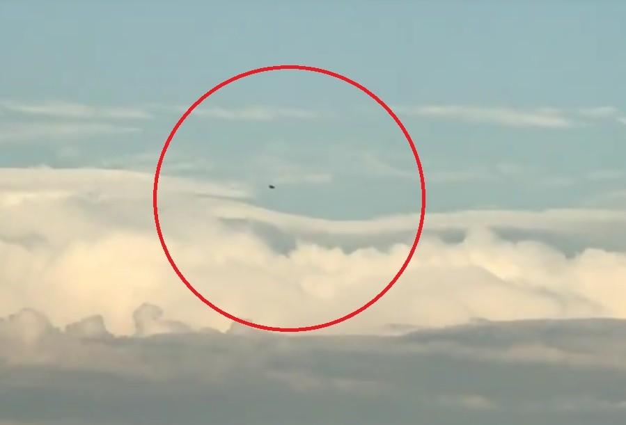 Здешние граждане увидели НЛО над Ивантеевкой— Подмосковье
