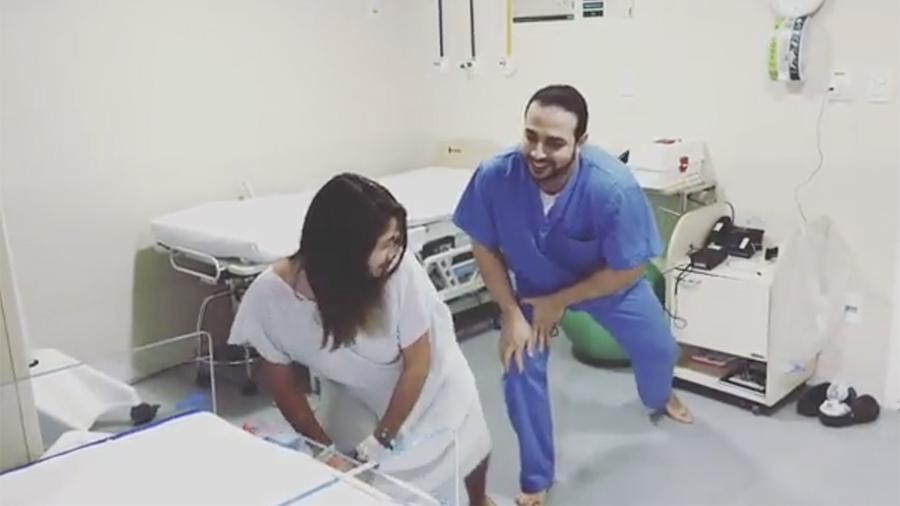 Доктор изБразилии предлагает уменьшать боль вовремя схваток танцами