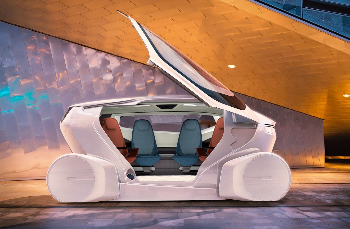 К 2040г вгородах будет на100% беспилотный транспорт
