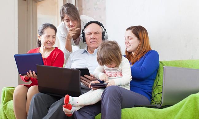 Число пользователей сети интернет вмире достигло 4 млрд человек
