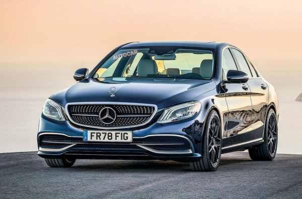 Обновленный Mercedes-Benz C-Class дебютирует в марте 2018 года