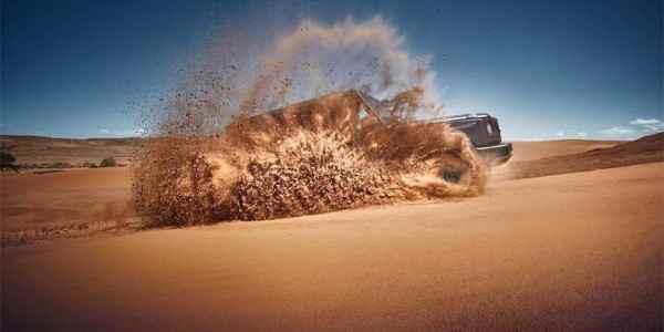 Опубликован «пустынный» тизер нового Mercedes-Benz G-Class