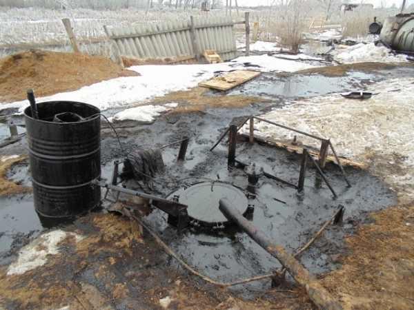 Под Энгельсом произошёл разлив нефти