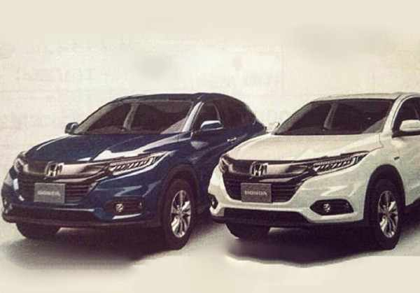 Дизайн обновлённого Honda HR-V рассекретили до премьеры