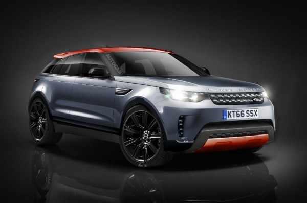 Рассекречен интерьер трёхдверного кроссовера Range Rover Coupe
