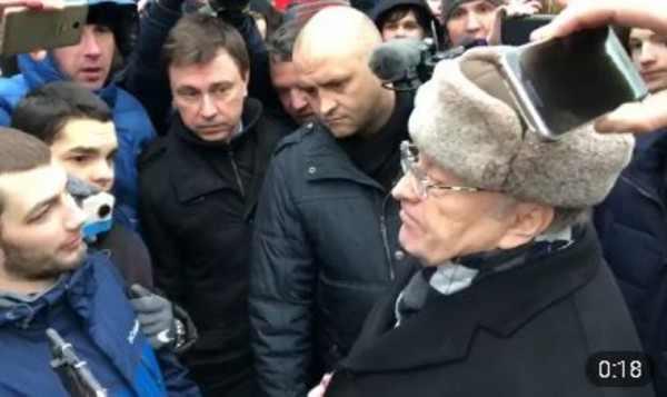 Жириновский выступил в Москве перед участниками акции за Навального