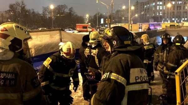 Обнародованы детали аварии у Московского метро на станции «Улица 1905 года»