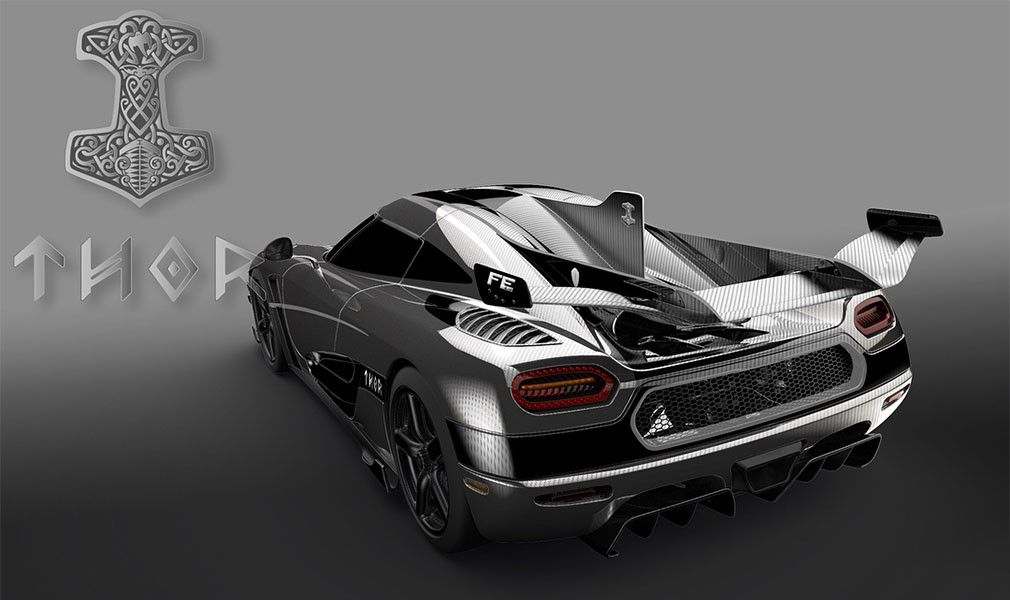 Koenigsegg готовит инкрустированный бриллиантами гиперкар AgeraFE
