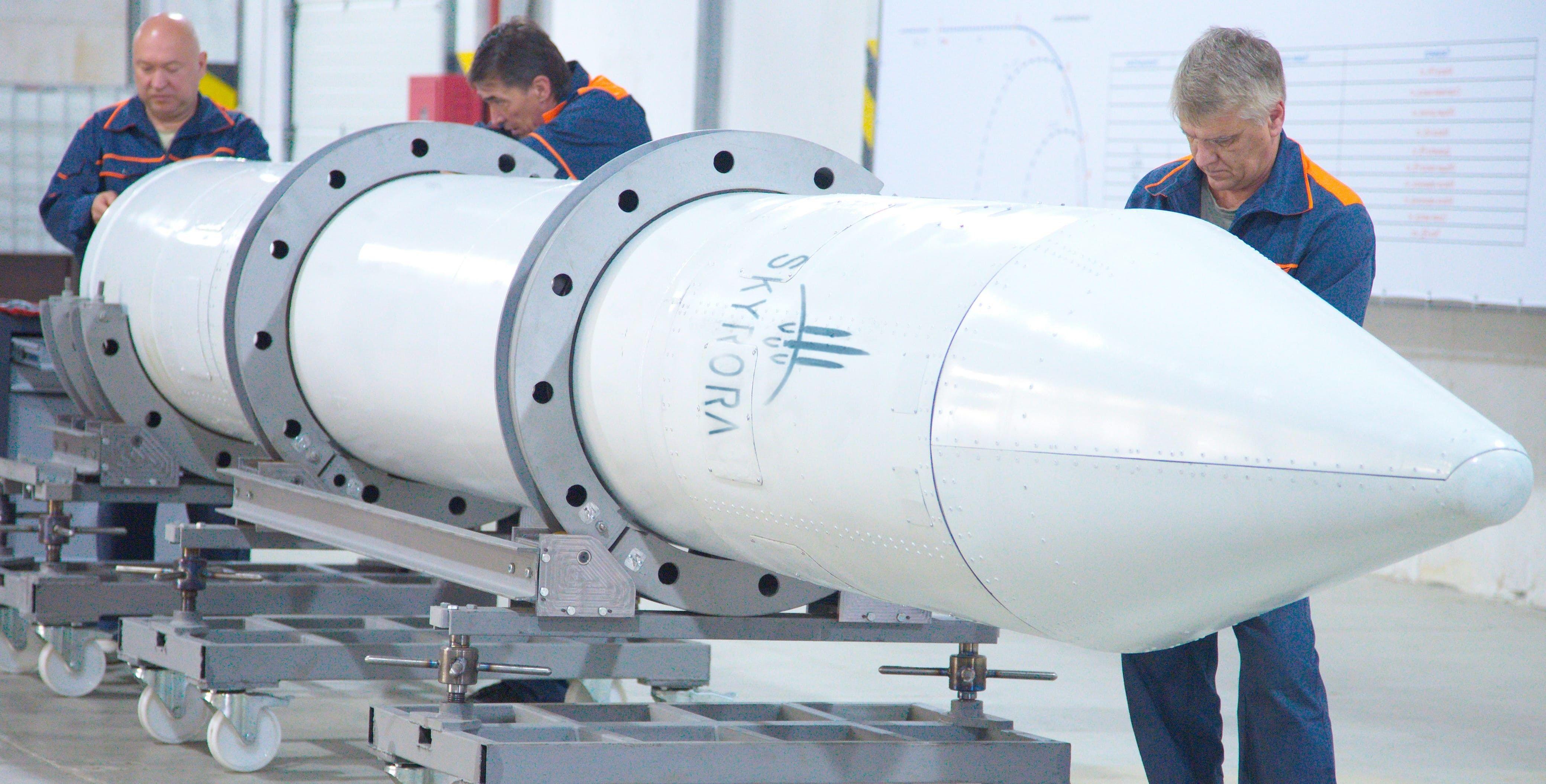 ВУкраинском государстве создали ракету для английских наноспутников