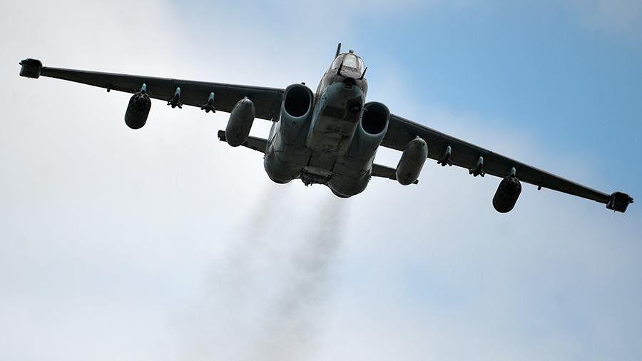 Вглобальной сети появилось видео уничтожения боевиками штурмовика Су-25 ВКСРФ