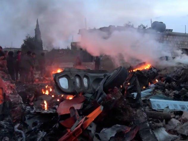 Летчик сбитого вСирии русского самолета подорвал себя гранатой