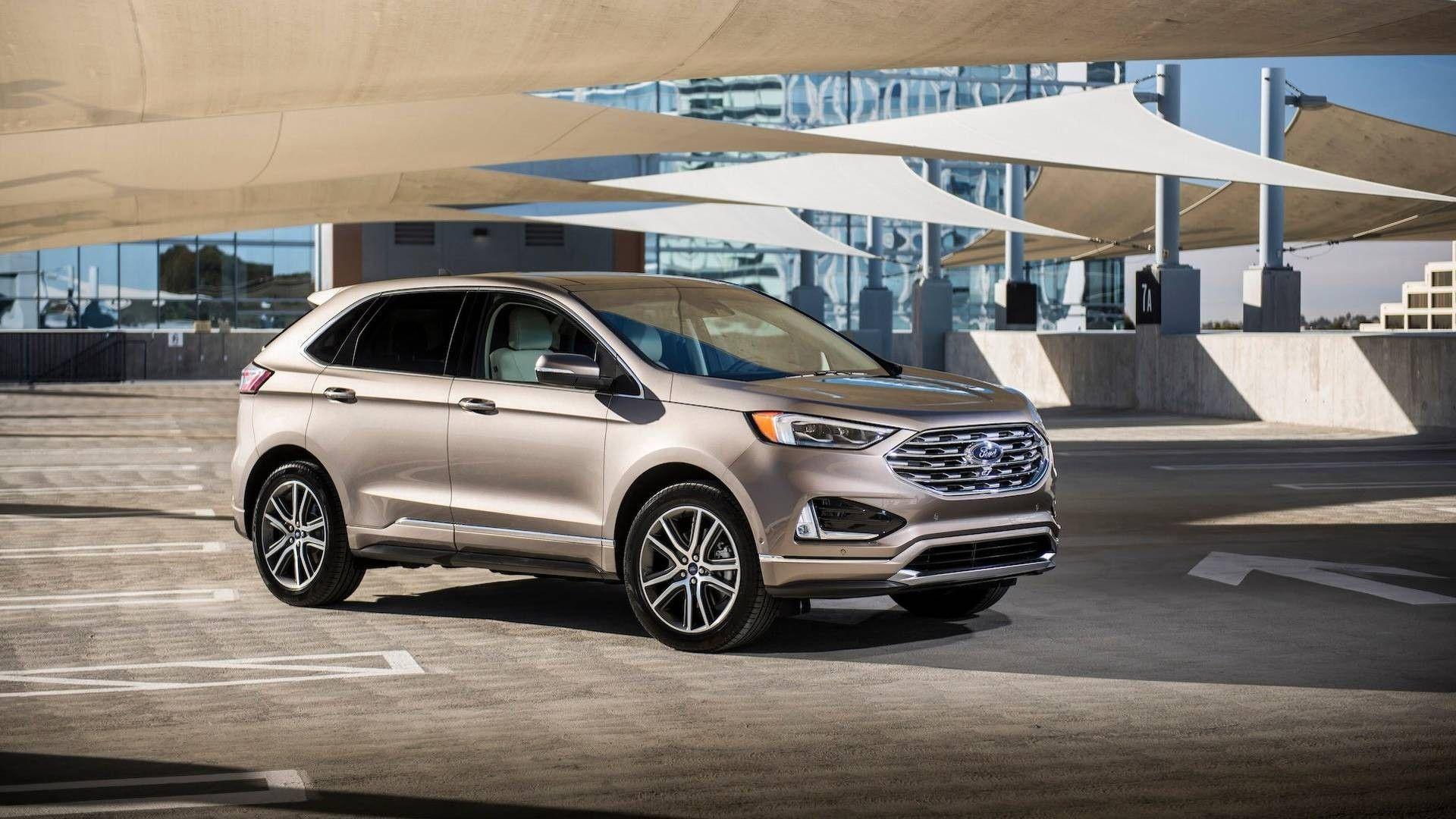 Ford объявил о выпуске 2019 Edge Titanium Elite