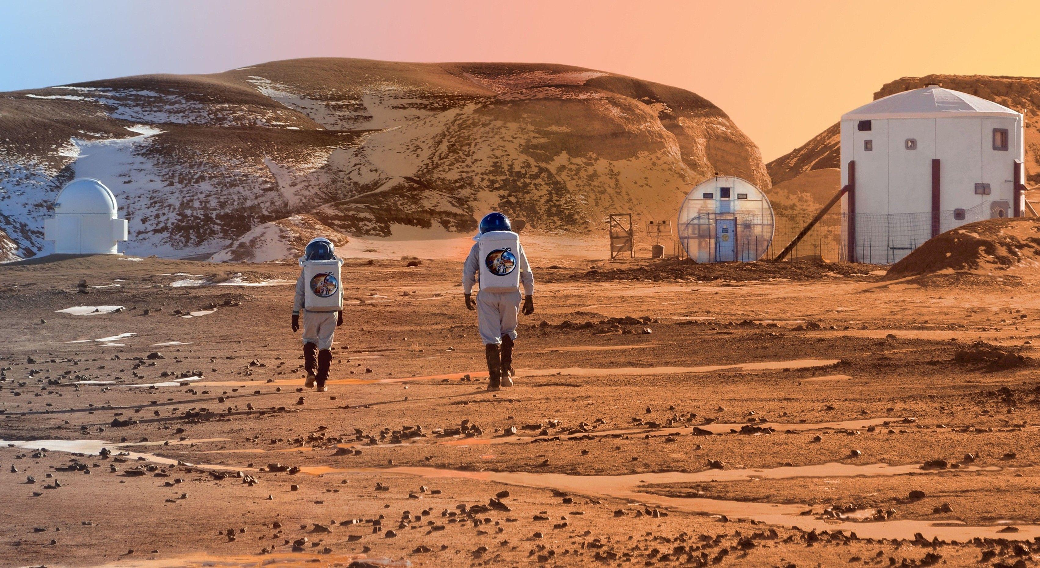 Ученые считают, что изучать Марс смогут только генетически модифицированные люди