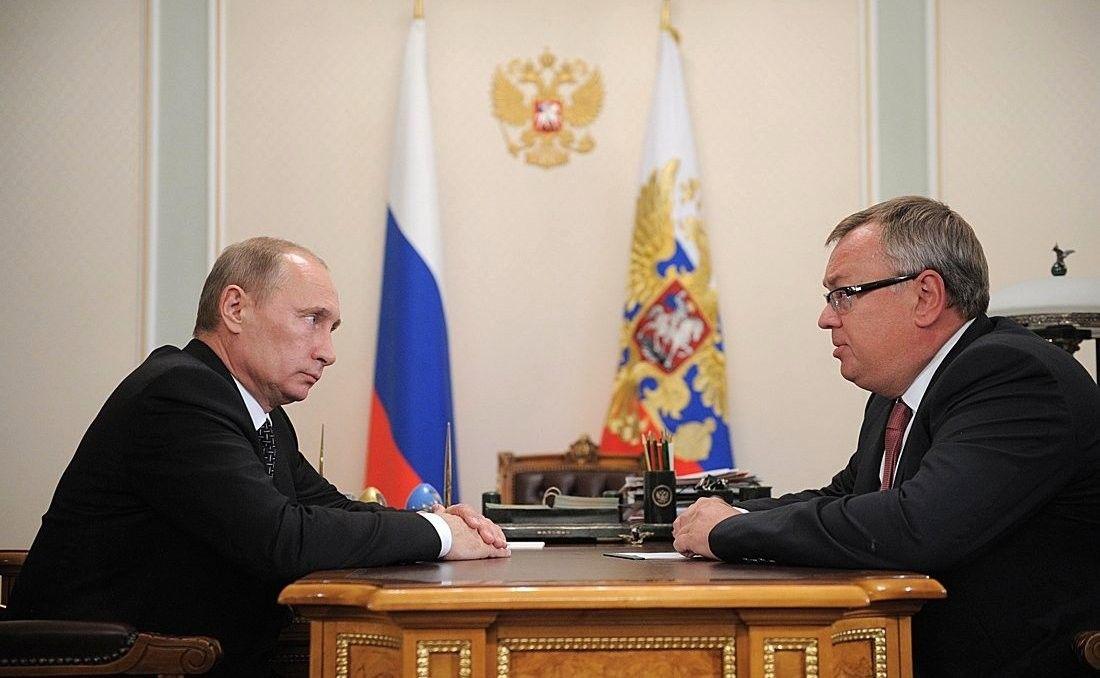 Песков поведал овстрече В.Путина сглавой ВТБ