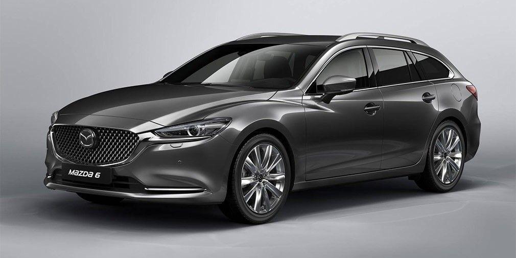 Mazda обновила универсал 6 Tourer